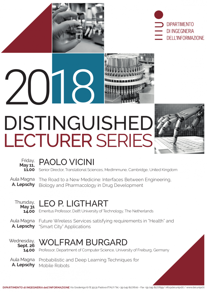 Distinguished Lecturer Series 2018 Poster
